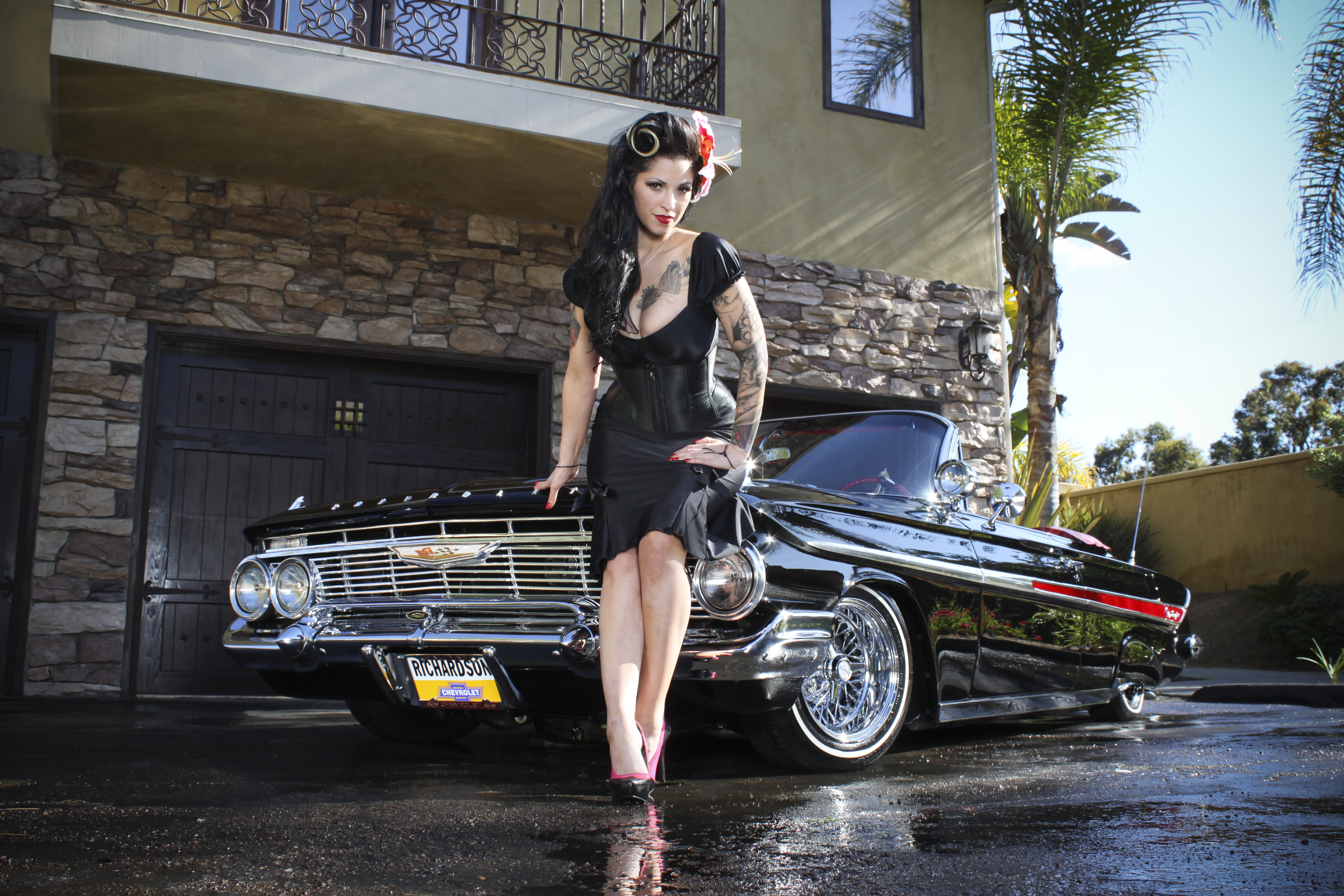 Apologise, lowrider cars with girls that interfere