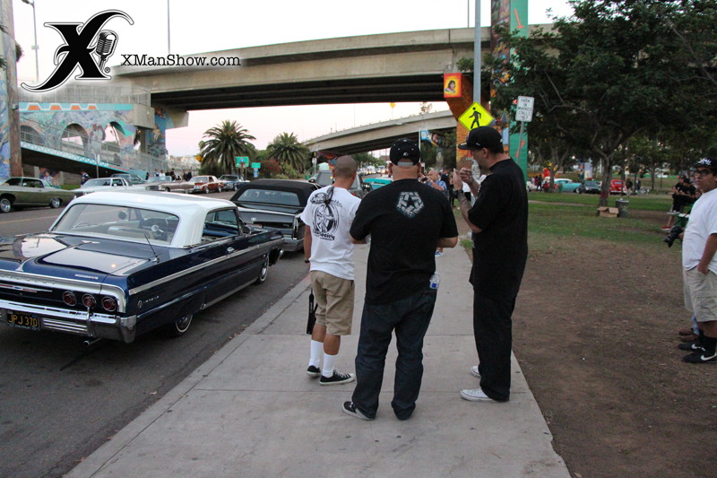 Chicano Park Cruise 2013 079 X Man Show