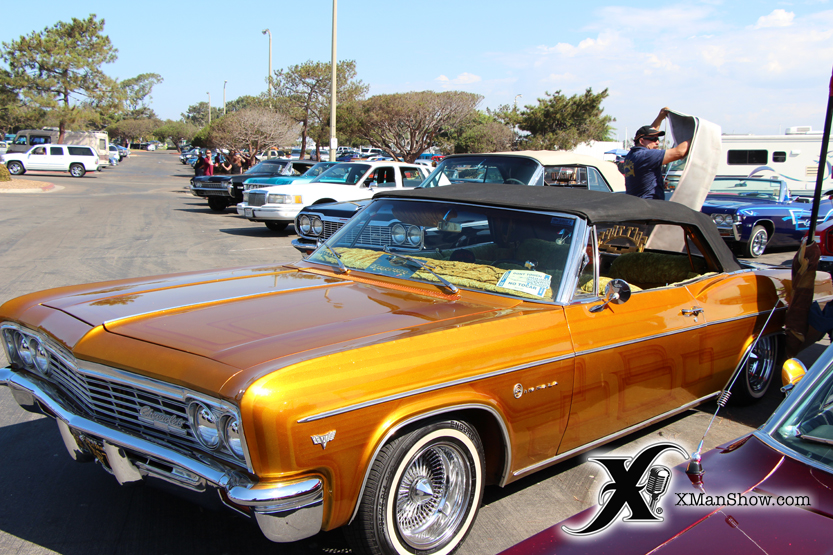 Aztlan Car Club Picnic 2014 052 X Man Show