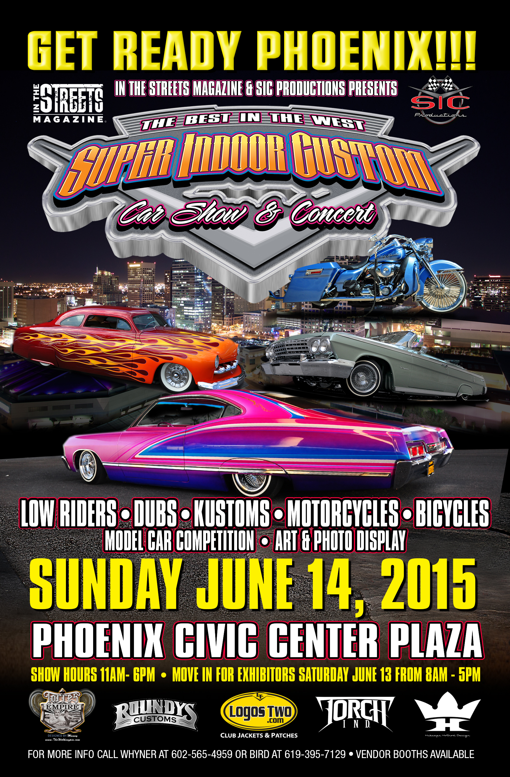 Super Indoor Custom Car Show Concert In ARIZONA XMan Show - Civic center car show